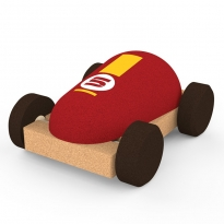 Elou Red Racing Car