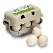 Erzi Six White Eggs