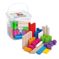 Erzi Learning Game Stacking Blocks