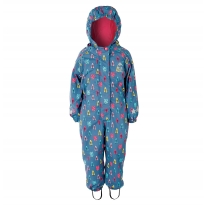 Frugi Explorer Owl Forest Waterproof All-In-One