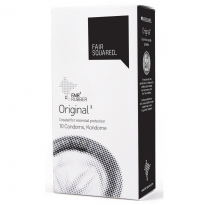 Fair Squared Fairtrade Original Condoms x 10