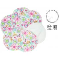 ImseVimse Flower Print Breast Pads 3 Pairs