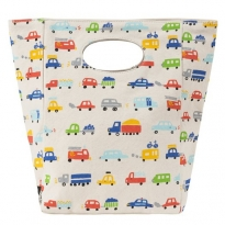 Fluf Classic Organic Lunch Bag - Cars