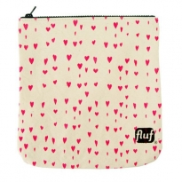 Fluf Cosmetics Pouch - Hearts