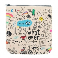 Fluf Cosmetics Pouch - Whatever
