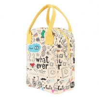 Fluf Zipper Lunch Bag - Whatever