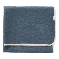 Fresk Indigo Blue Nordic Blanket 100cm x 150cm