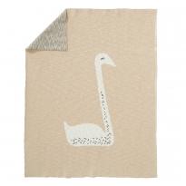Fresk Swan Knitted Blanket 100cm x 150cm