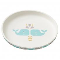 Fresk Whale Bamboo Plate