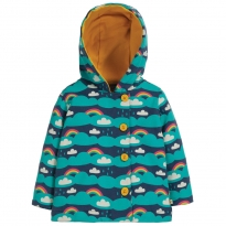 Frugi Above The Clouds Cosy Button Up Jacket