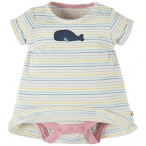 Frugi Whale Bitsy Body Dress