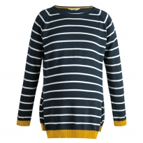 Frugi Bloom Breton Juniper Jumper
