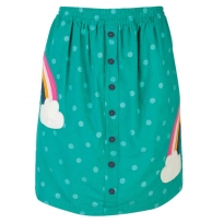 Frugi Polka Rainbow Saffy Skirt