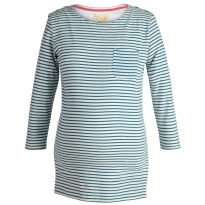 Frugi Bloom Nautical Boatneck Top