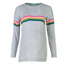 Frugi Bloom Rainbow Emily Jumper