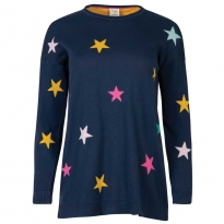 Frugi Bloom Rainbow Star Emily Jumper