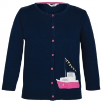 Frugi Bloom Sailboats Cardigan