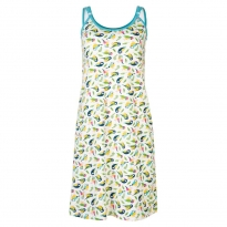 Frugi Bloom White Tweet Amelia Nursing Nightie