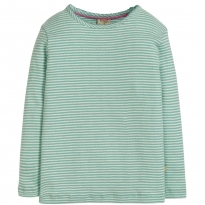 Frugi Blue Mia Pointelle Top