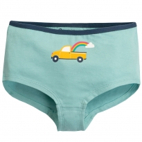 Frugi Blue Truck Georgia Girl Shorts