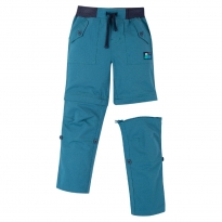Frugi Blue Tyler Rip-Stop Combat Trousers
