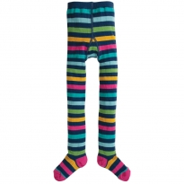 Frugi Bright Multistripe Norah Tights