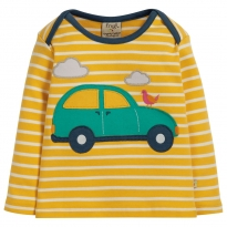 Frugi Car Bobby Applique Top
