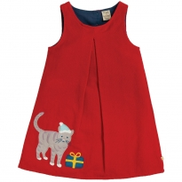 Frugi Cat Amber Applique Dress
