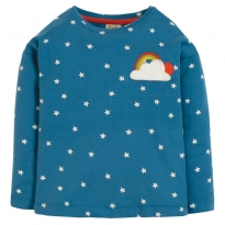 Frugi Cloud Bethany Boxy Top