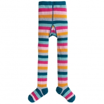 Frugi Cosmic Stripe Little Norah Tights