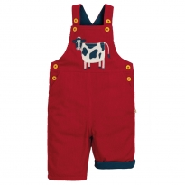 Frugi Cow Play Days Dungarees
