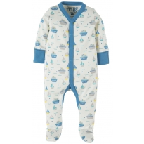 Frugi Summer Seas Darling Babygrow