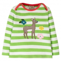 Frugi Deer Bobby Applique Top