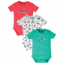 Frugi Deer Super Special Body 3-Pack