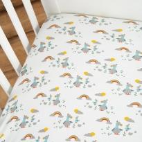 Frugi Delightful Dodos Cosy Cot Bed Sheets