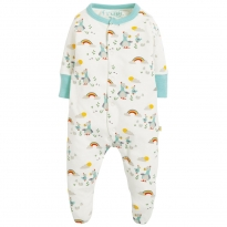 Frugi Delightful Dodos Lovely Little Babygrow