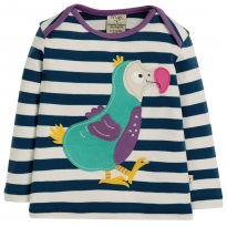 Frugi Dodo Bobby Applique Top