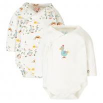 Frugi Dodo Littlest Body 2 Pack