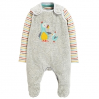 Frugi Dodos Snuggly Velour Outfit