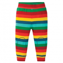 Frugi Multi Stripe Favourite Cuffed Leggings