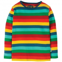 Frugi Multi Stripe Favourite LS Tee