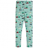 Frugi Festive Farm Libby Leggings
