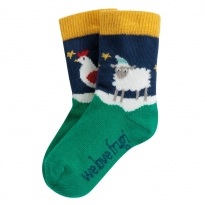 Frugi Festive Friends Perfect Little Pair Socks
