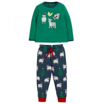 Frugi Festive Friends Stargaze Pyjamas