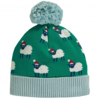 Frugi Festive Sheep Icicle Intarsia Hat