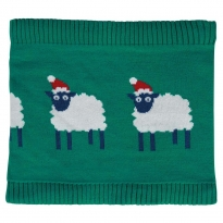 Frugi Festive Sheep Robyn Snood