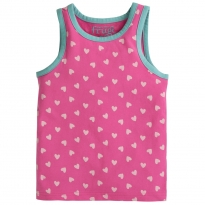 Frugi Flaming Hearts Voyager Vest