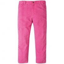 Frugi Flamingo Speckle Spot Cally Cord Trousers