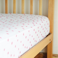 Frugi Floral Polka Cuddle-Up Cot Bed Sheet