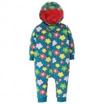 Frugi Floral Spot Snuggle Suit